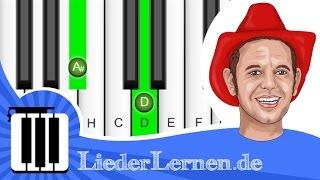 Mallorca Cowboys - Markus Becker - Das Rote Pferd - Klavier lernen - Musiknoten - Akkorde