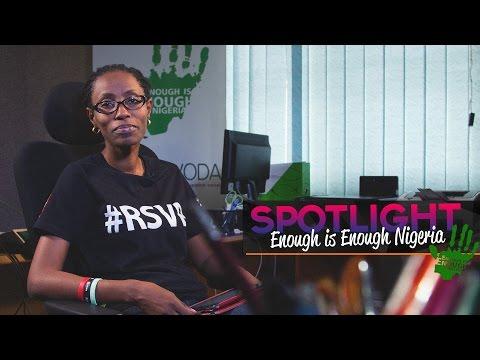 Spotlight - Enough is Enough Nigeria
