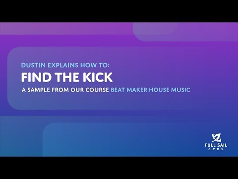 Finding the Kick | Beat Maker House Music