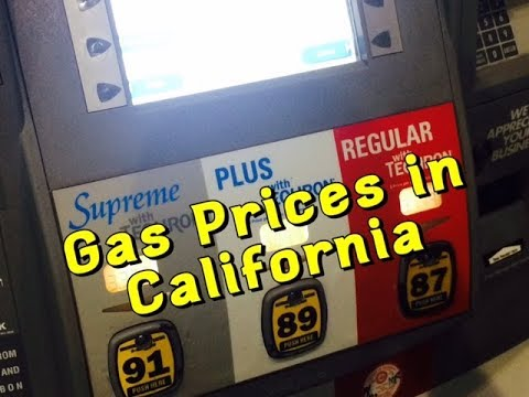 Gas Prices in California 2017 - Why So High? - Los Angeles Gas Prices - Bundys Garage