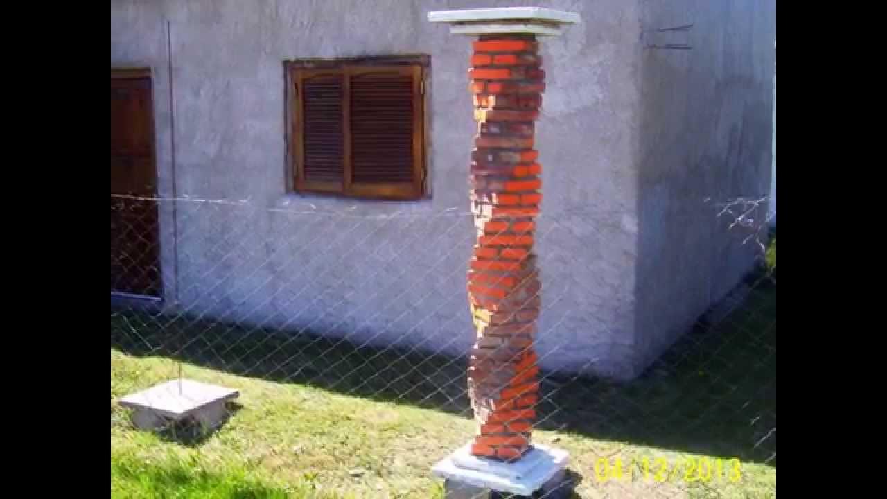 Las columnas salomonicas youtube - Como hacer tabiques ...