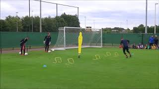 Goalkeeper trainingsession Waasland Beveren (10 july 2018 )