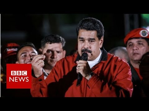 Venezuela's Maduro claims poll victory as opposition cries foul - BBC News