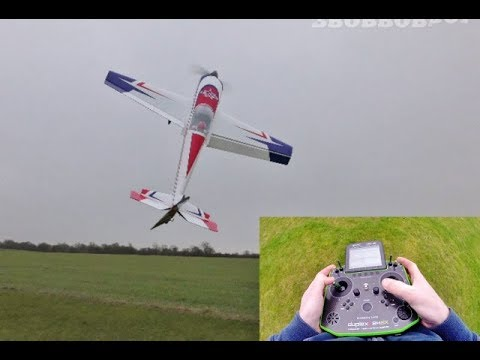 "EXTREME FLIGHT SLICK 580 100"" - GP 123cc - TX IN VIEW PIC IN PIC - DEANO DISPLAY - 2018"