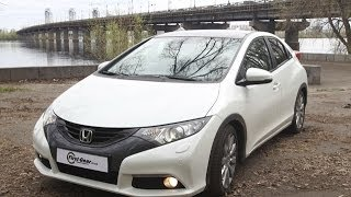 Видео Тест  Драйв Honda Civic 5D 2012 модельного года(http://first-gear.in.ua/2013/05/test-drajv-honda-civic-5d-new/