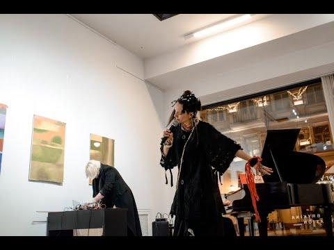 Панк-группа АЭЛИТА. Вечер памяти. Тандем художник-поэт. Игорь Вулох – Геннадий Айги. 2-ая часть