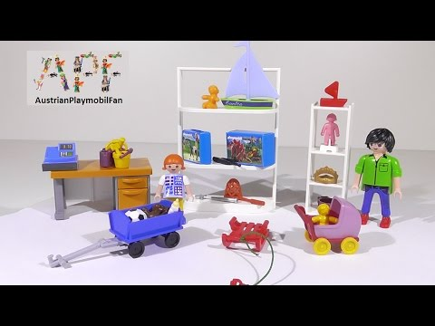 playmobil-city-life-5488-toy-shop-/-spielzeugshop---playmobil-review