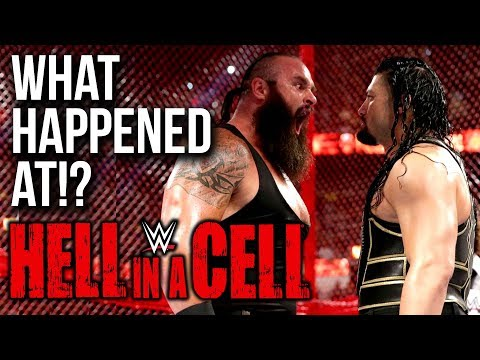 WHAT HAPPENED AT: WWE Hell In A Cell 2018