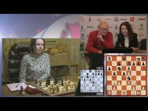 Women's World Chess Championship Match. Round 2.
