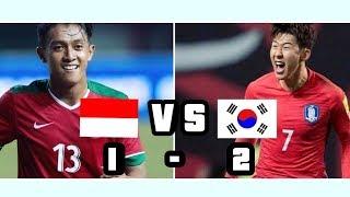 Friendly Match Indonesia U23 Vs korea Selatan U23 Full Highlight 2018