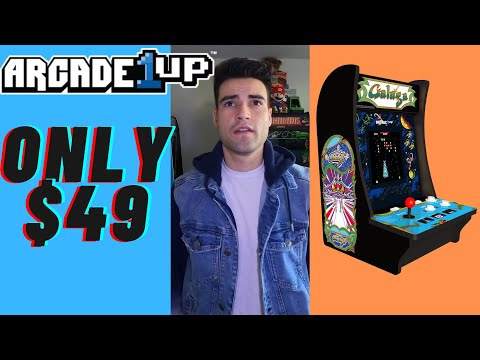 ARCADE1UP $49 CABINET 2021 from Brick Rod
