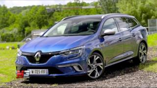 New renault megane sporter gt 2016 - first test drive only sound