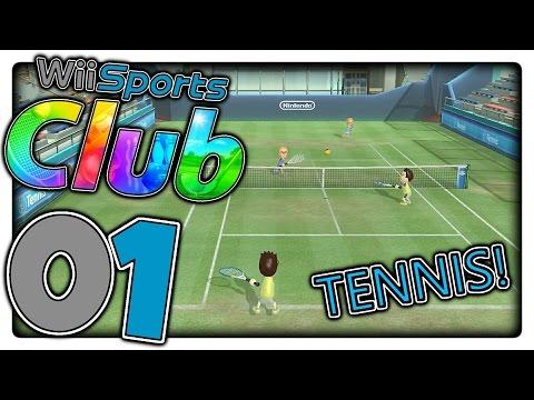 Ich bin der größte TENNIS-PROFI ! 💣Let's Play WII SPORTS CLUB Part 1 (DEUTSCH/GERMAN)