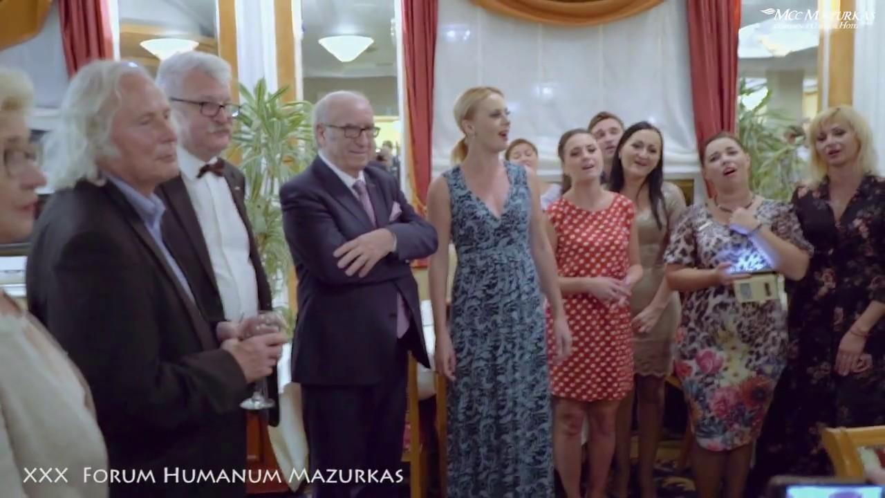 """XXX FORUM HUMANUM MAZURKAS-Narodowy Chór Ukrainy im.""""G.G.Wierowki""""- Kulisy-""""Arka"""" z Chórem"""