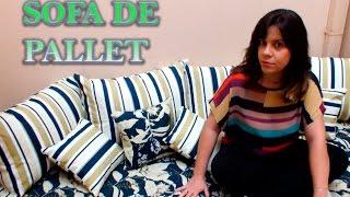 Como fazer um sofá de pallet – Tutorial DIY