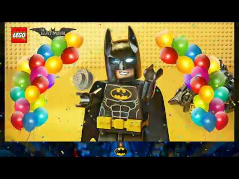 Convite Animado Lego Batman Youtube