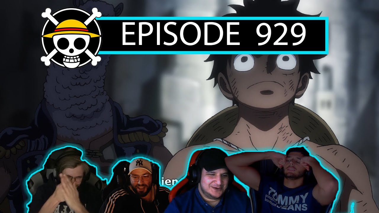 FULL INFO !!! ONE PIECE EPISODE 929 REACTION FR - YouTube