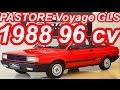 PASTORE Volkswagen Voyage GLS 1.8 1988 FWD MT5 Álcool 96 cv 15,6 mkgf 165 kmh 0-100 kmh 11,5 s