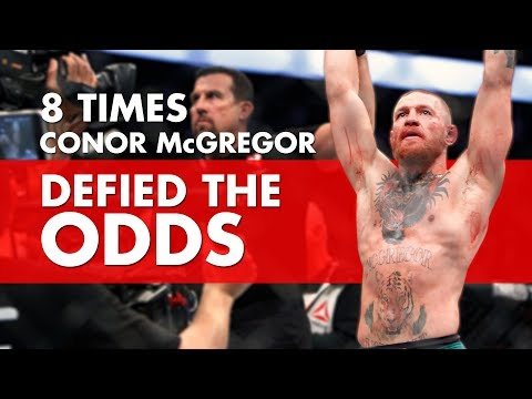 Thumbnail: 8 Times Conor McGregor Has Defied The Odds