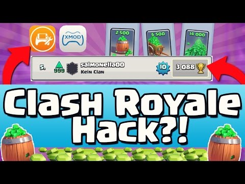 ERSTER CLASH ROYALE HACK / MOD?! | Hacker in Top 10?! | Clash Royale [deutsch/german]