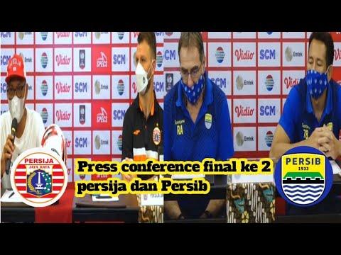 Download press conference final ke 2 persija dan Persib