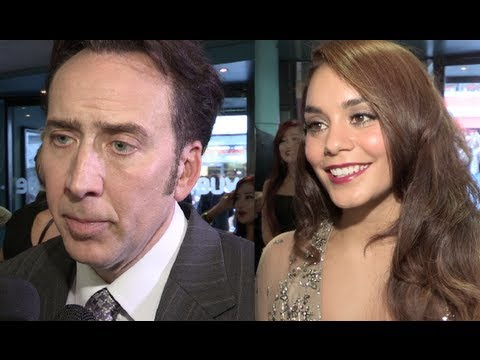 The Frozen Ground Premiere s Nicolas Cage, Vanessa Hudgens, Katie Wallack, Robert Forgit