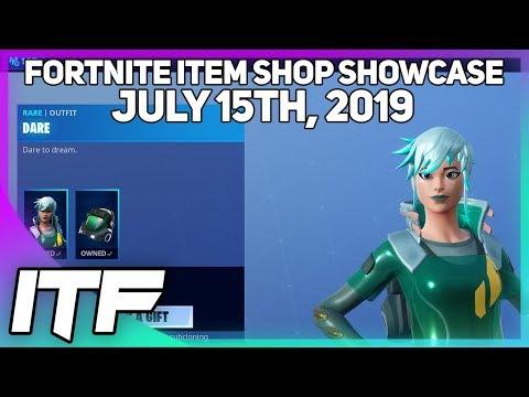Fortnite Item Shop *NEW* DARE SKIN! [July 15th, 2019] (Fortnite Battle Royale)