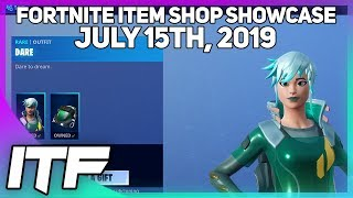 Fortnite Item Shop *NEW* DARE SKIN! [July 15th, 2019] (Fortnite Battle Royale)
