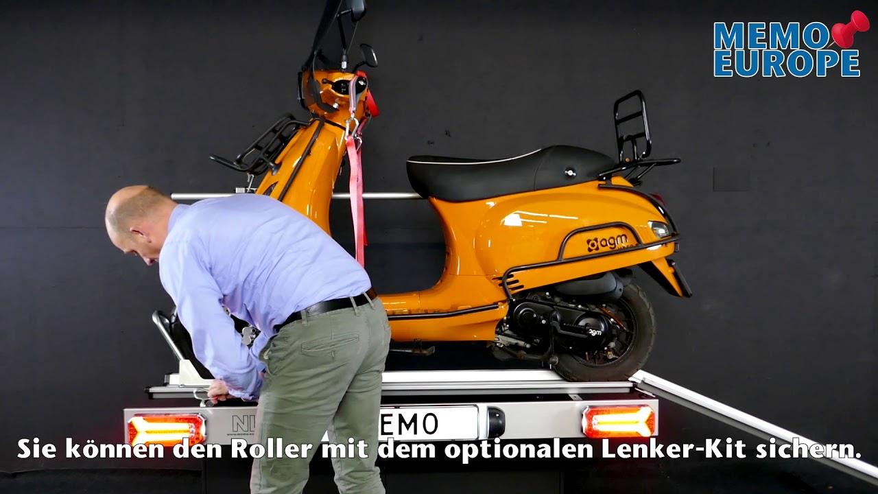 Halterung heckgarage roller wohnmobil Motorradhalter für