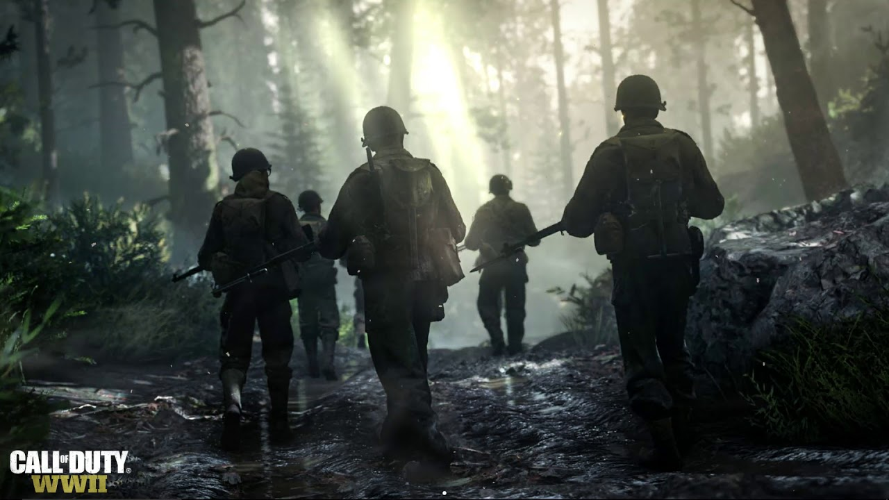 Wallpaper Engine Call Of Duty Wwii World War Ii Youtube