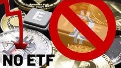 NO BITCOIN ETF - CBOE Withdraws Bitcoin ETF Will Bitcoin Crash?