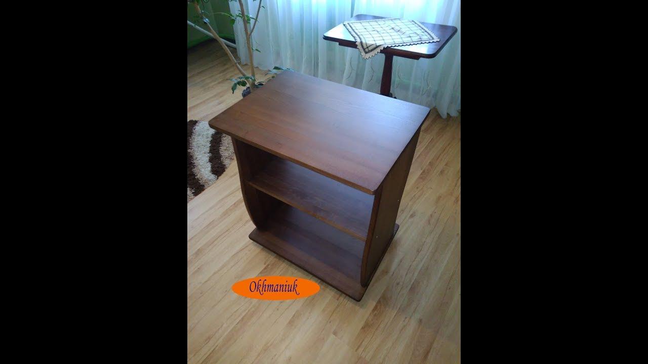журнальный столик своими руками Diy Coffee Table Youtube