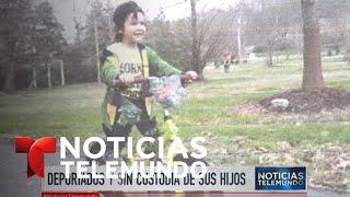 Los padres deportados que reclaman a sus hijos | Noticiero | Noticias Telemundo
