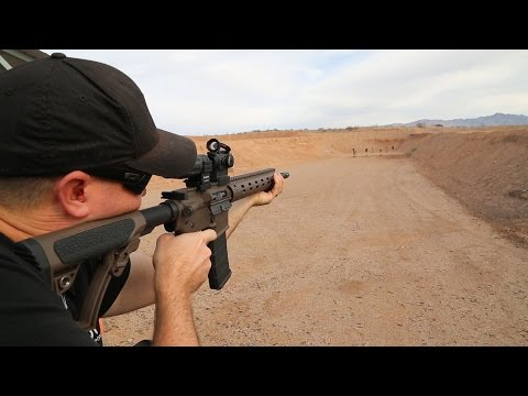 Aimpoint 3X Mag, ACO & Twist Mount Review || SHOT Show 2015