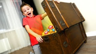 СУНДУК С МИЛЛИОНОМ🔑💰CHEST WITH MILLION🎁💸NEW FUNNY VIDEO FOR KIDS ON DIDIKA TV 2019