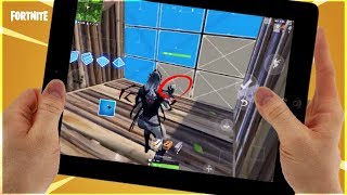 Fortnite Mobile - CROSSHAIR EDITING - Update on Building / Bugs