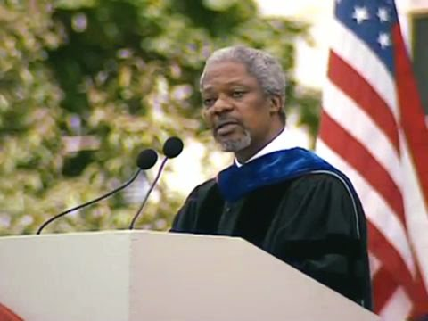 Secretary-General Kofi Atta Annan—1997 MIT Commencement Address