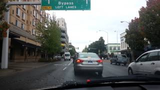 Driving in Salem oregon