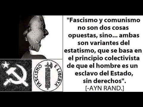 El fascismo es socialismo y de izquierda. Claro como el agua.