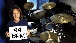 44 bpm Drummer Beat & Loop (mp3 download)