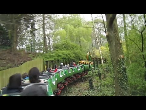Dragon Flyer back seat on-ride HD POV Camelot Theme Park