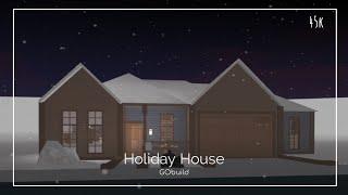 Roblox Bloxburg | 45k Holiday House (No Gamepasses)