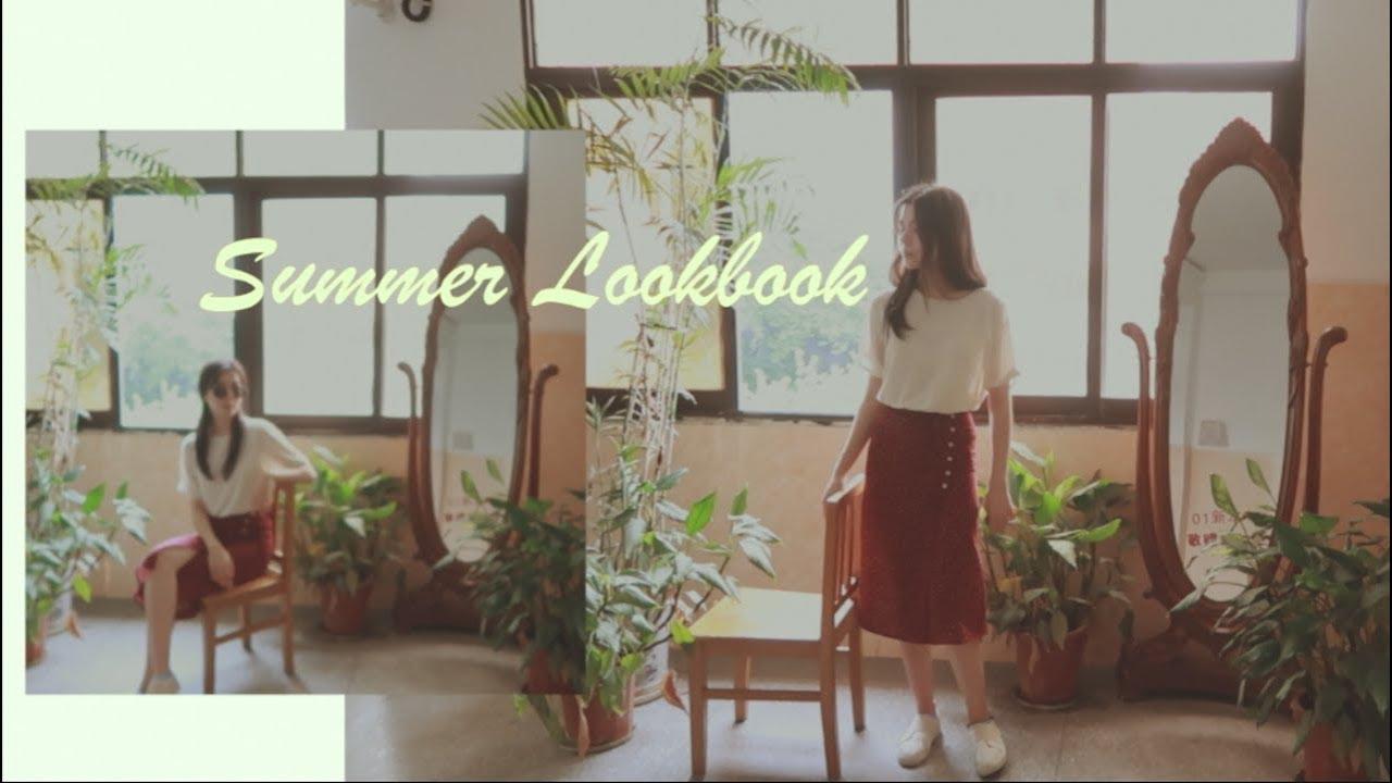 🌞 summer lookbook 🌴  летние базовые образы на лето 2🌻19