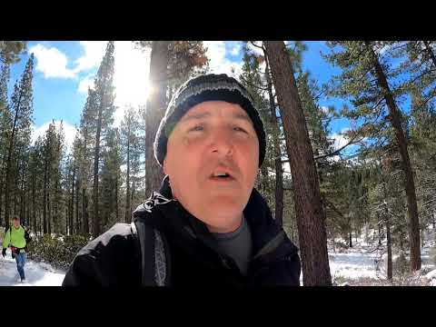 Winter Day Hike at Grovers Hot Spring in Marklevle Ca