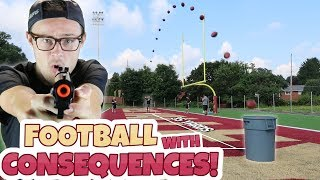 REAL LIFE FOOTBALL USER SKILLS CHALLENGE!! SPORTS WITH CONSEQUENCES