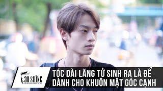 Quang Hưng Đổi Kiểu Tóc Dài Ngôi Giữa Như Sơn Tùng, Phong Cách Như Tài Tử Hongkong1| 30Shine TV