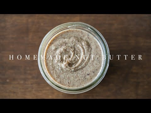 Homemade Nut Butter ☆ 自家製ナッツバターの作り方