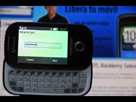 Liberar Samsung B5310 Corby Pro, desbloquear Samsung B5310 de Movistar Movical Net