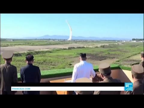 North Korea: Pyongyang fires short-range ballistic missile off Japan