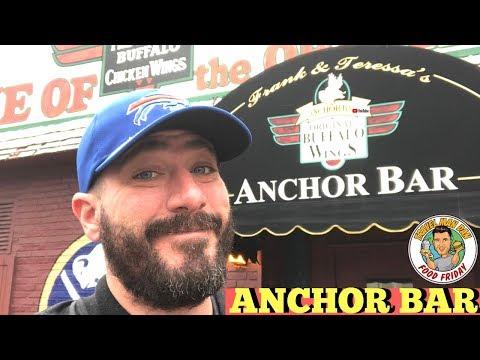 ANCHOR BAR -BUFFALO, NEW YORK-FOOD FRIDAY-TRAVEL MAN DAN